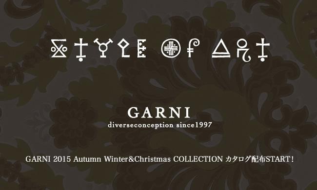 GARNI 2015 Autumn Winter&Christmas COLLECTION �����?����START��
